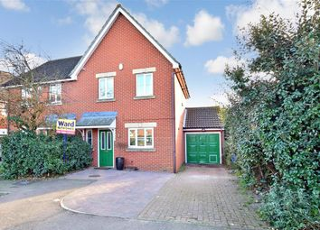 Thumbnail 3 bed semi-detached house for sale in Anatase Close, Sittingbourne, Kent