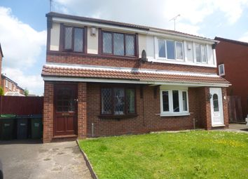 Thumbnail 3 bedroom property to rent in Pennyroyal Close, Walsall