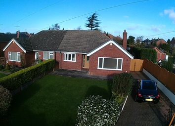 Thumbnail 2 bed bungalow for sale in Longlands Lane, Market Drayton