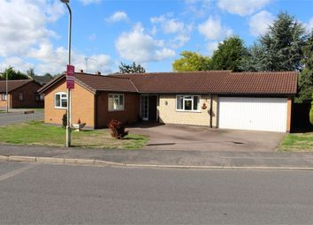 Thumbnail 3 bed detached bungalow for sale in The Fieldway, Broughton Astley, Leicester