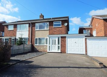 Thumbnail 3 bed semi-detached house to rent in Morley Road, Burntwood