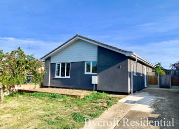 Thumbnail 3 bed detached bungalow for sale in Coldham Close, Ormesby, Great Yarmouth