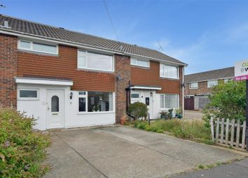 Thumbnail 3 bed terraced house for sale in Canterbury Road, Rustington, West Sussex