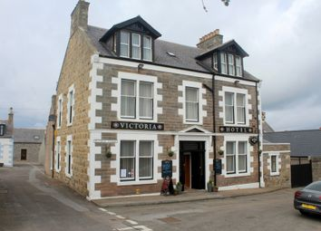 Thumbnail Hotel/guest house for sale in Victoria Hotel, 1 Victoria Street, Portknockie, Moray