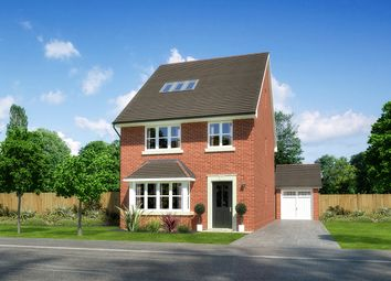 "Thumbnail 5 bed detached house for sale in ""Kellingside"" at Palladian Gardens, Hooton Road, Hooton, Wirral"