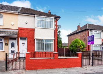 Thumbnail 2 bed end terrace house for sale in Fieldton Road, Liverpool