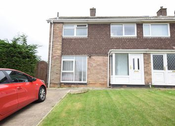 Thumbnail 3 bed semi-detached house for sale in Southwold Rise, Scarborough, North Yorkshire