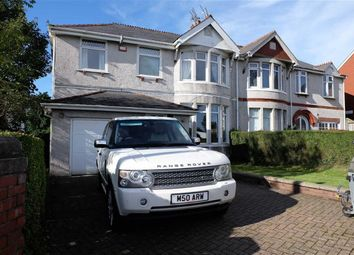 Thumbnail 4 bed semi-detached house for sale in Colcot Road, Barry, Vale Of Glamorgan
