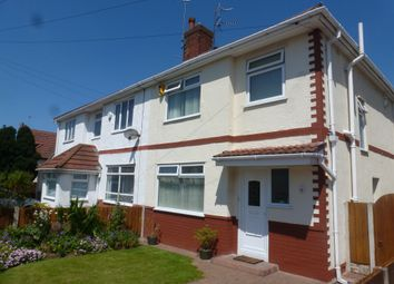 Thumbnail 3 bed semi-detached house for sale in Childwall Avenue, Moreton, Wirral