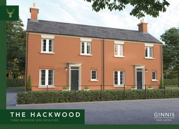 Thumbnail 3 bed semi-detached house for sale in Deer Park, Coach Road, Butterley, Ripley