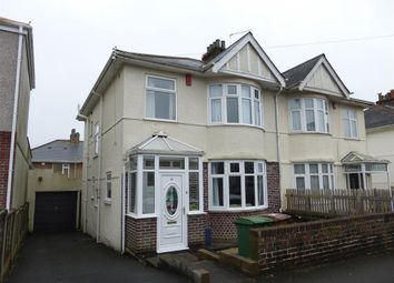 Thumbnail 3 bedroom semi-detached house to rent in Langhill Road, Plymouth