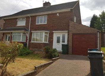 Thumbnail 3 bed semi-detached house to rent in Brunswick Rd, Rotherham