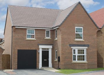 "Thumbnail 4 bedroom detached house for sale in ""Drummond"" at Michaels Drive, Corby"