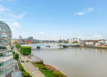 Thumbnail 3 bed flat to rent in Ensign House, Battersea Reach