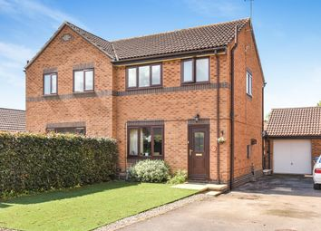 Thumbnail 3 bed semi-detached house for sale in The Orchard, Fangfoss, York