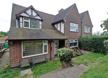 Thumbnail 4 bed semi-detached house for sale in Kneeton Vale, Sherwood, Nottingham