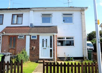 Thumbnail 3 bedroom end terrace house for sale in Meadow Way, Theale, Reading, Berkshire