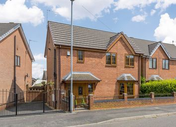 Thumbnail 3 bed detached house for sale in Riley Avenue, Stoke-On-Trent