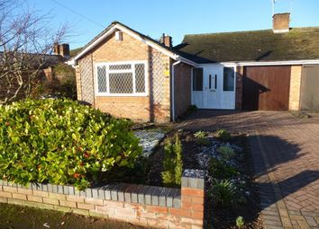 Thumbnail 3 bed bungalow to rent in Blythe Avenue, Balsall Common, Coventry