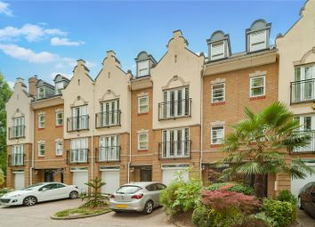Thumbnail 5 bed terraced house for sale in Barker Close, Kew, Surrey