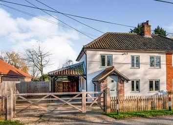 Thumbnail 3 bed semi-detached house for sale in Saham Toney, Watton, Thetford