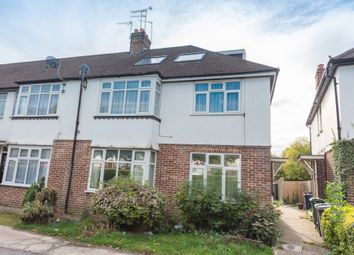 Thumbnail 3 bed duplex for sale in Chadbury Court, Watford Way, Mill Hill