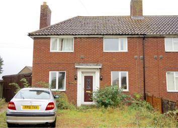 Thumbnail 3 bed semi-detached house for sale in Avenue Road, Lakenheath, Brandon