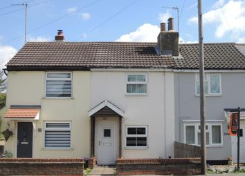 Thumbnail 2 bed terraced house for sale in Straight Road, Colchester