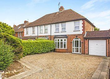 Thumbnail 3 bed semi-detached house for sale in Canterbury Road, Kennington, Ashford