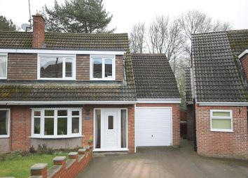Thumbnail 4 bed semi-detached house for sale in Woodview Close, Wingerworth, Chesterfield