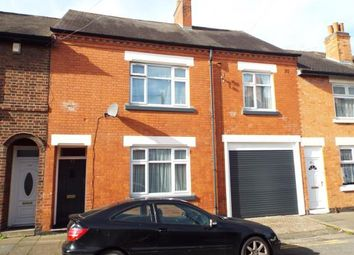 Thumbnail 4 bed terraced house for sale in Trafford Road, Leicester, Leicestershire