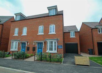 Thumbnail 4 bed semi-detached house for sale in The Village, Barlaston, Stoke-On-Trent