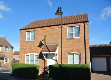 Thumbnail 3 bed detached house for sale in Heartsease Way, Bourne, Lincolnshire
