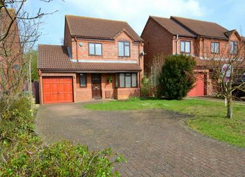 Thumbnail 3 bedroom detached house to rent in Cornwallis Drive, Eaton Socon, St Neots, Cambridgeshire