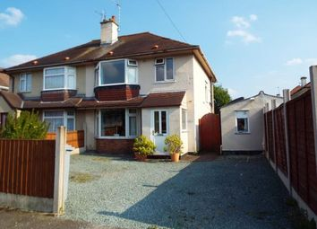 Thumbnail 3 bed semi-detached house for sale in Cherry Tree Road, Crewe, Cheshire