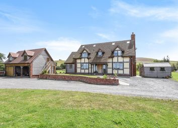 Thumbnail 4 bed detached house for sale in St. Harmon, Rhayader, Powys