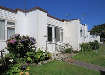 Thumbnail 1 bed terraced bungalow for sale in The Chalets, Jelbert Way, Eastern Green, Penzance, Cornwall.