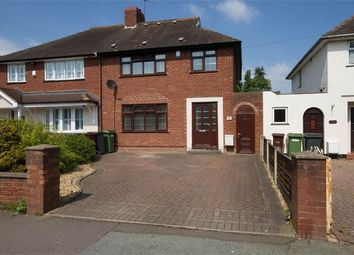 Thumbnail 4 bed semi-detached house for sale in Blackwood Avenue, Wednesfield, Wolverhampton, West Midlands