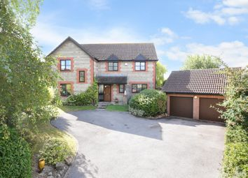 Thumbnail 4 bed detached house for sale in Studland Park, Westbury