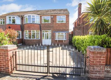 Thumbnail 5 bed semi-detached house for sale in Lostock Road, Urmston, Manchester