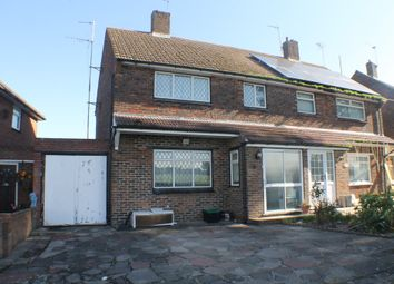 Thumbnail 3 bed semi-detached house to rent in Crowhurst Way, Orpington