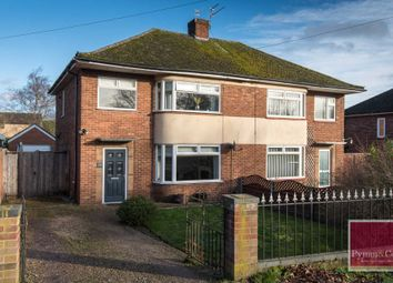 3 bed semi-detached house for sale in Tollhouse Cottages, Dereham Road, New Costessey, Norwich NR5