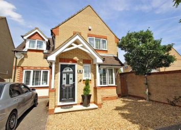 Thumbnail 3 bed detached house for sale in Comet Drive, Shortstown, Bedford