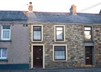 Thumbnail 2 bed terraced house for sale in Cwmamman Road, Glanamman, Ammanford, Carmarthenshire.
