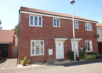 Thumbnail 3 bed semi-detached house to rent in Seven Acres, Cranbrook, Exeter