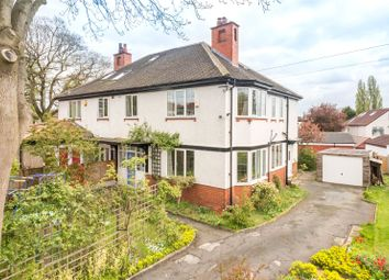 Thumbnail 4 bed semi-detached house for sale in Montagu Place, Leeds