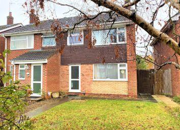 Thumbnail 3 bed semi-detached house for sale in Caernarvon Road, Hatherley, Cheltenham
