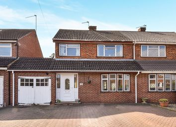 Thumbnail 3 bed semi-detached house for sale in The Bancroft, Etwall, Derby