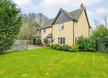 Thumbnail 5 bed detached house for sale in The Glebe, Hockering, Dereham