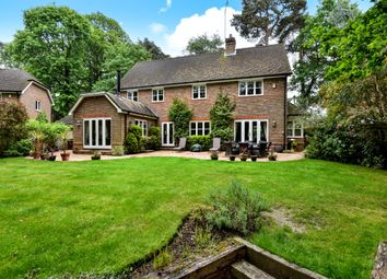Thumbnail 5 bed detached house to rent in The Spinney, Camberley